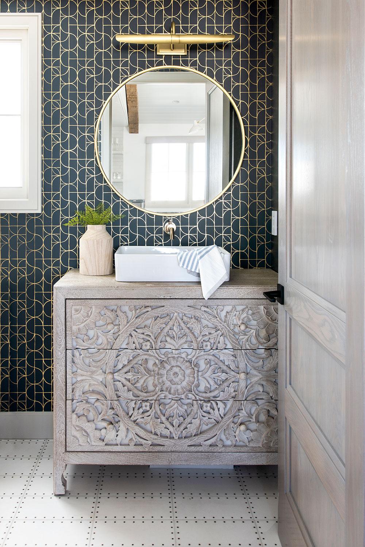 bathroom designed by Hillary Stammary Stam